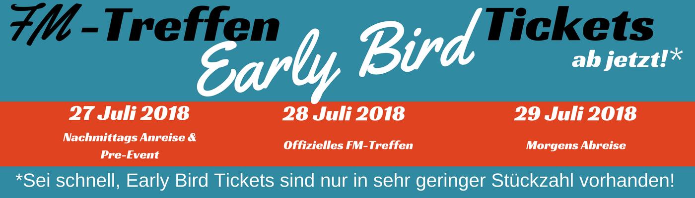 FM Treffen 2018 Eventbrite Freiheitsmobil Early Bird
